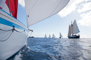 Exodus, Antigua,  West Indies Regatta vessels