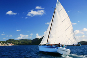 Good Expectation, St. Lucia,  West Indies Regatta vessels