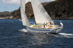 Ocean Nomad, Antigua,  West Indies Regatta vessels